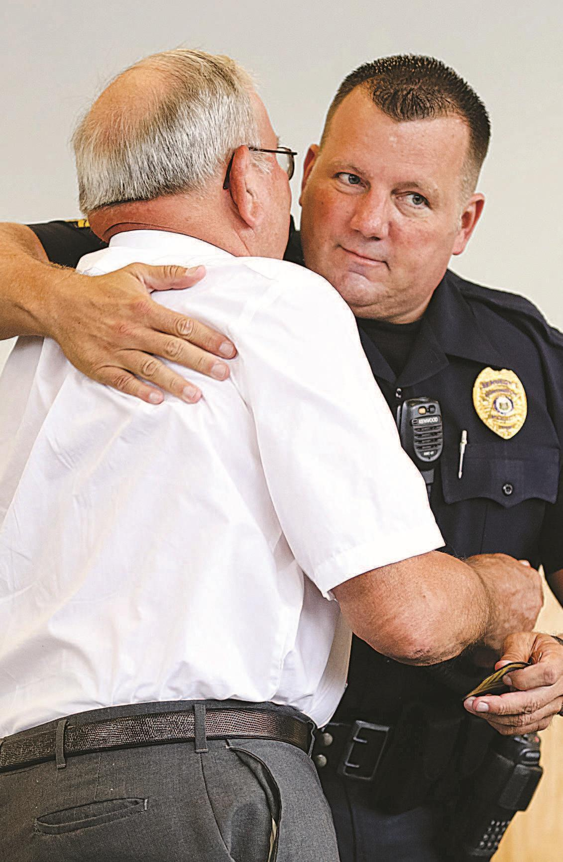 HPD promotion ceremony a welcome sight | | herald-dispatch com