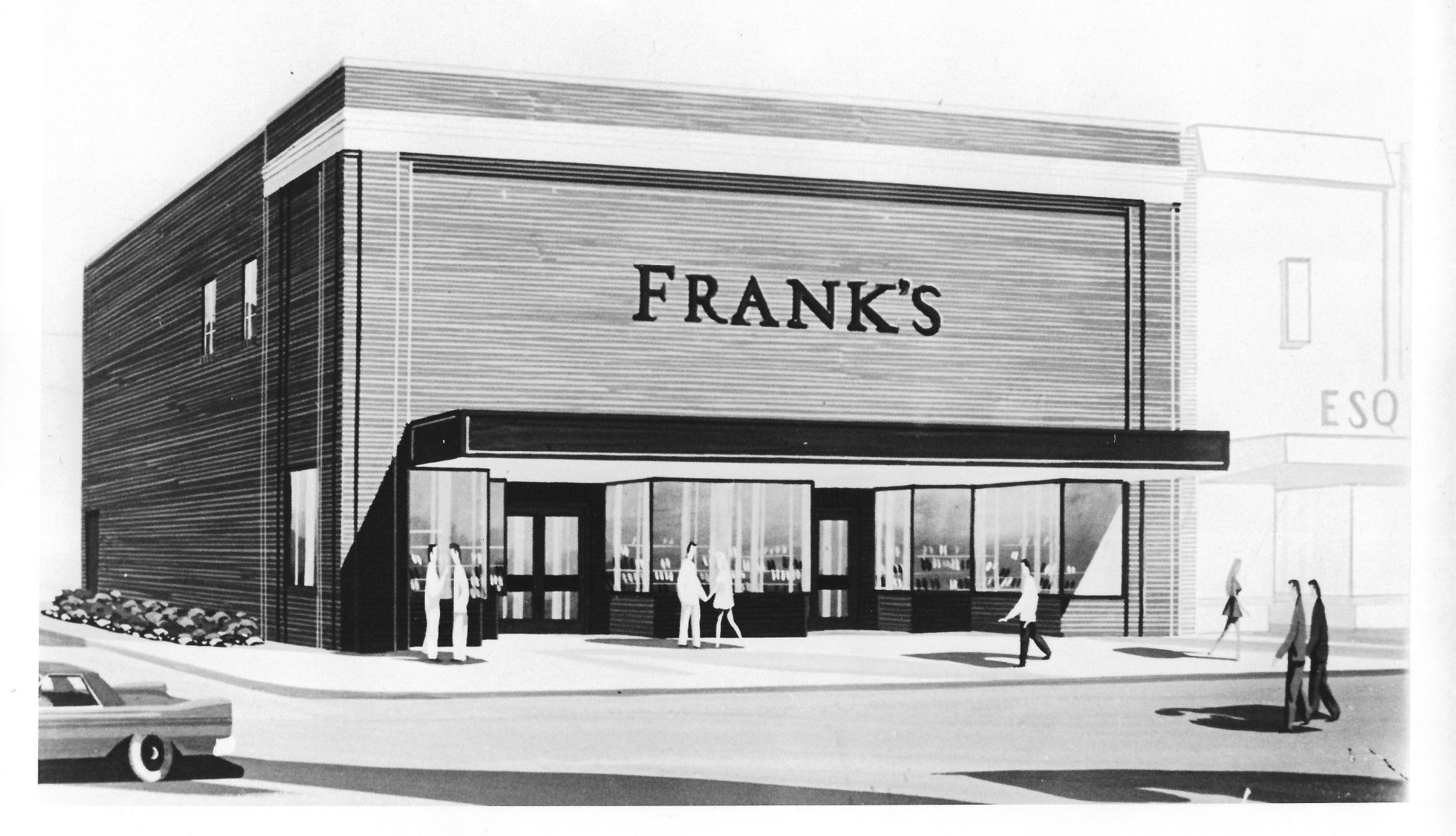 Lost Huntington: Frank's Shoe Store