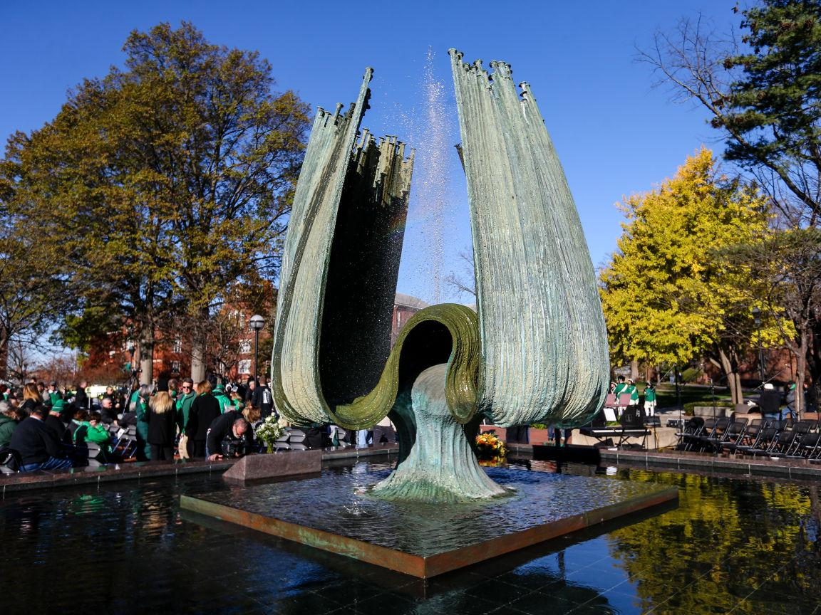Photos: Marshall University 45th Annual Memorial Fountain Ceremony