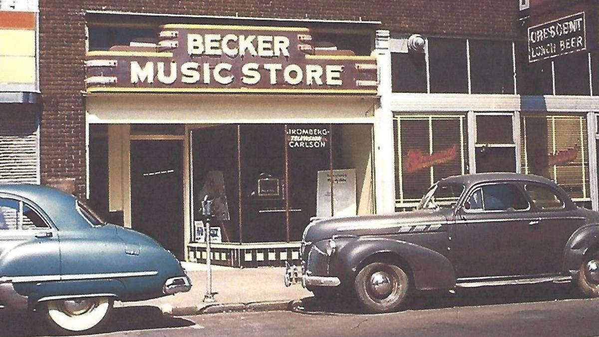 Lost Huntington: Becker Music Store