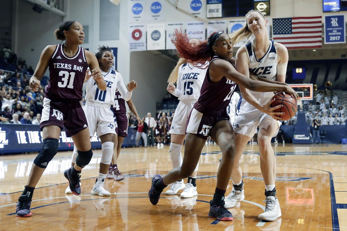 Texas A M Rice Basketball