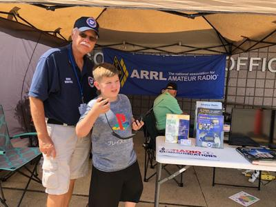 Historic ham radio event at courthouse deemed a success