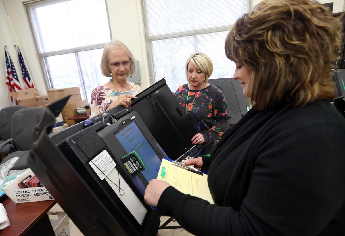 Early voting begins today | Elections | herald-dispatch com