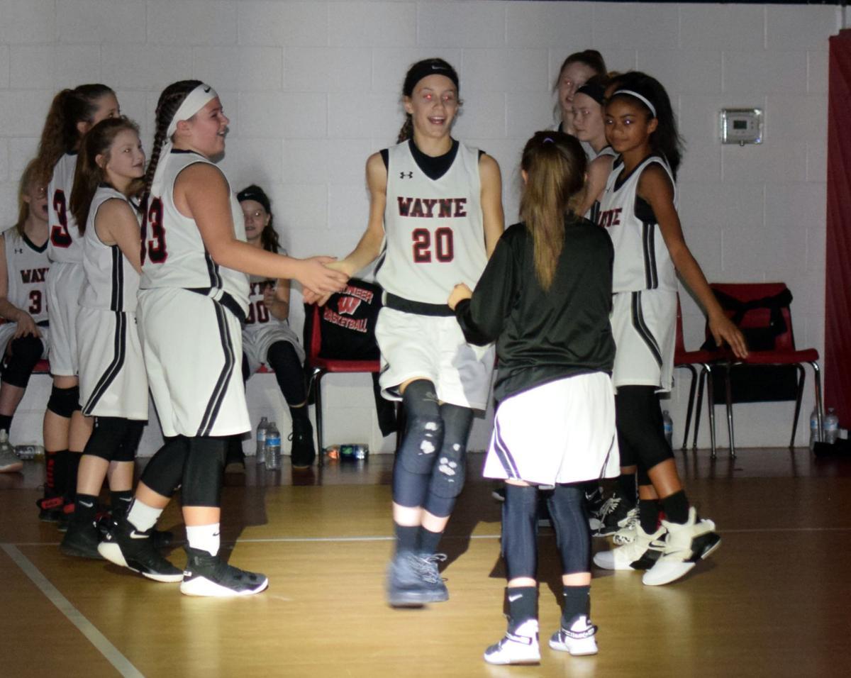 WMS vs. BMS girls basketball