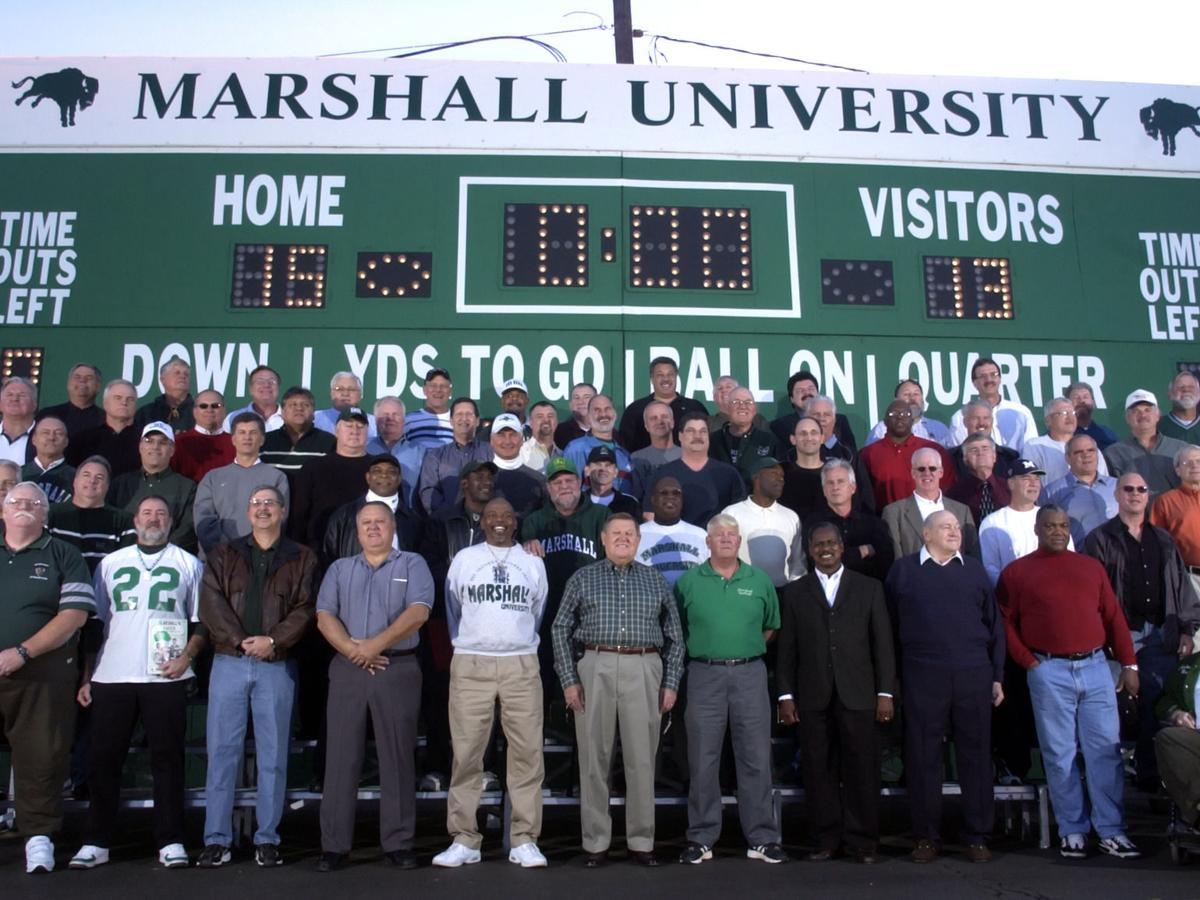 Gallery: Young Herd dedicates scoreboard, Dec. 11, 2006