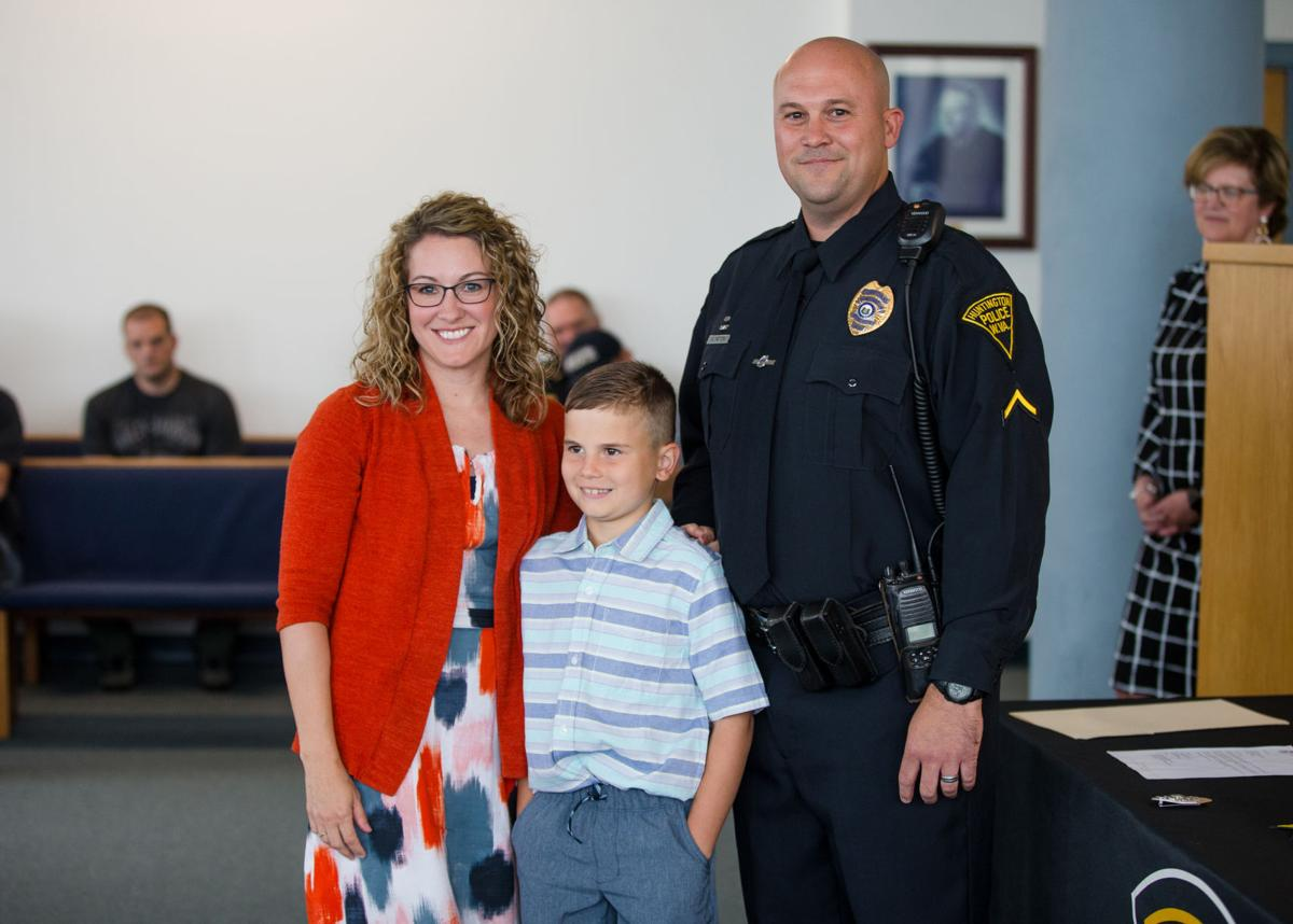 Huntington Police Department officer promoted to corporal