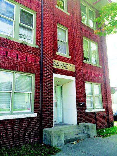 Courtesy of James E. Casto The Barnett Hospital closed in 1939.