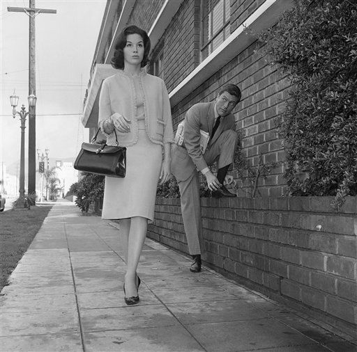 Dick Van Dyke and Mary Tyler Moore 1962