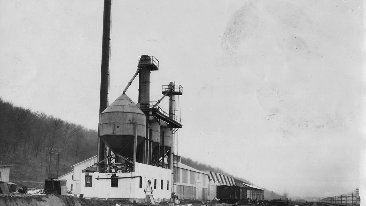 Lost Huntington: Kerr Glass plant