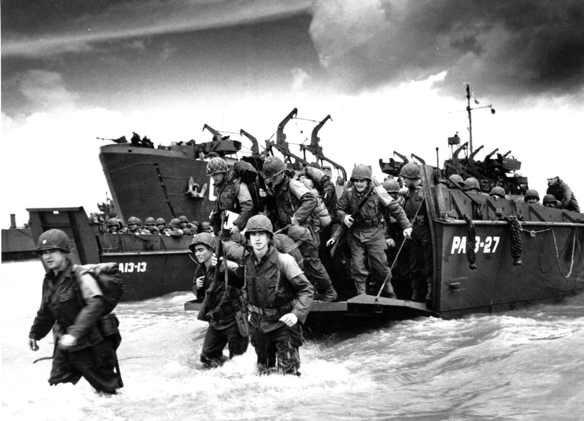 Gallery: Historical images of D-Day invasion