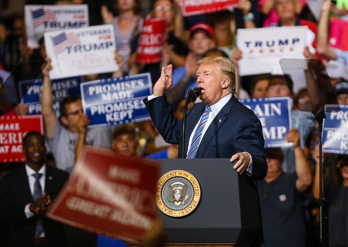 Trump Energizes Wv Supporters With Huntington Speech