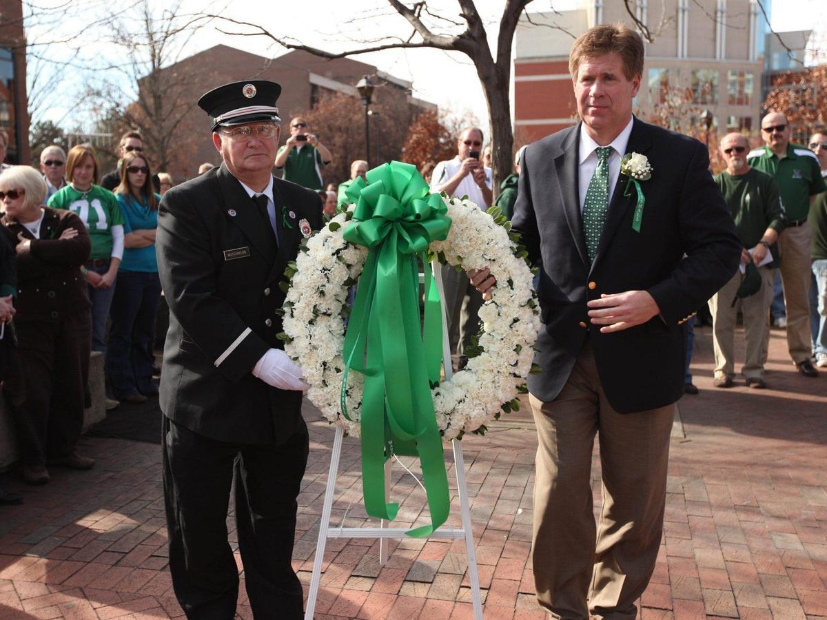 Gallery: Marshall Memorial Service 2009