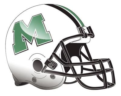 2017 marshall football helmet logo blox