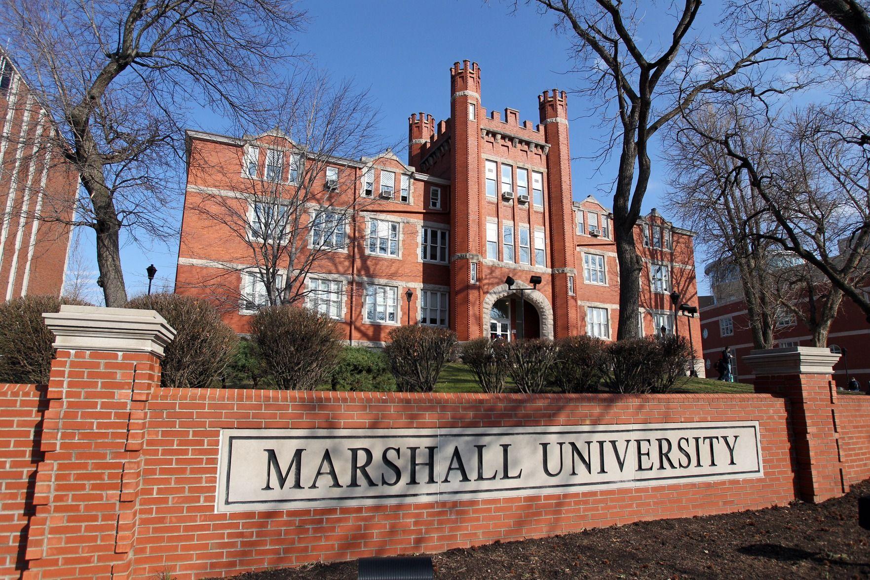 "We Are Marshall Marshall University /""Old Main/"""