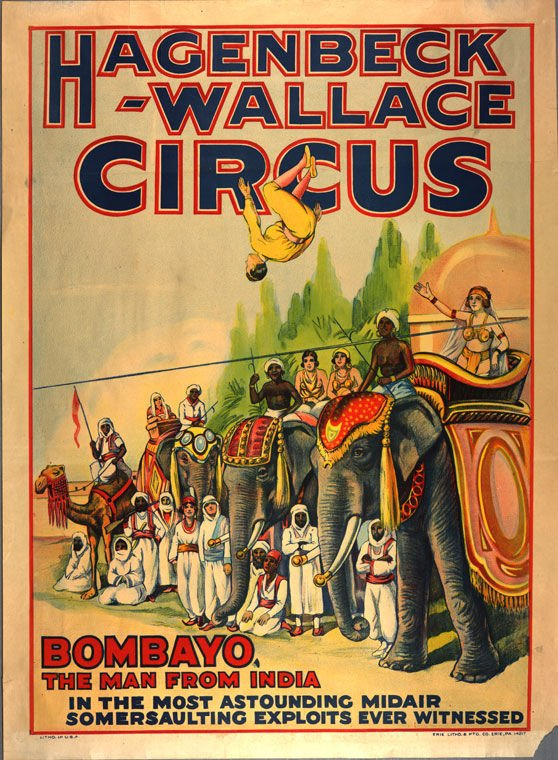 Circus days were magic in 1920s Huntington | Features/Entertainment