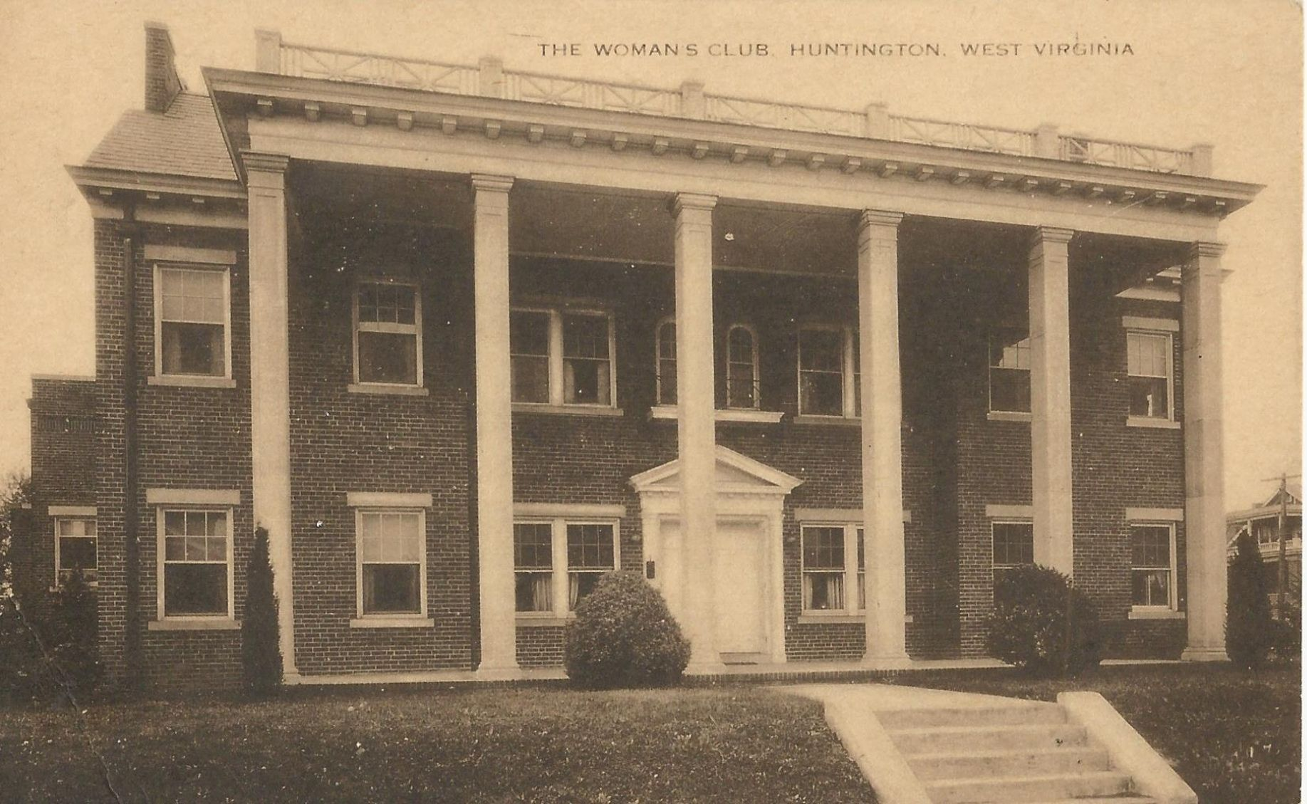 Lost Huntington: Woman's Club of Huntington