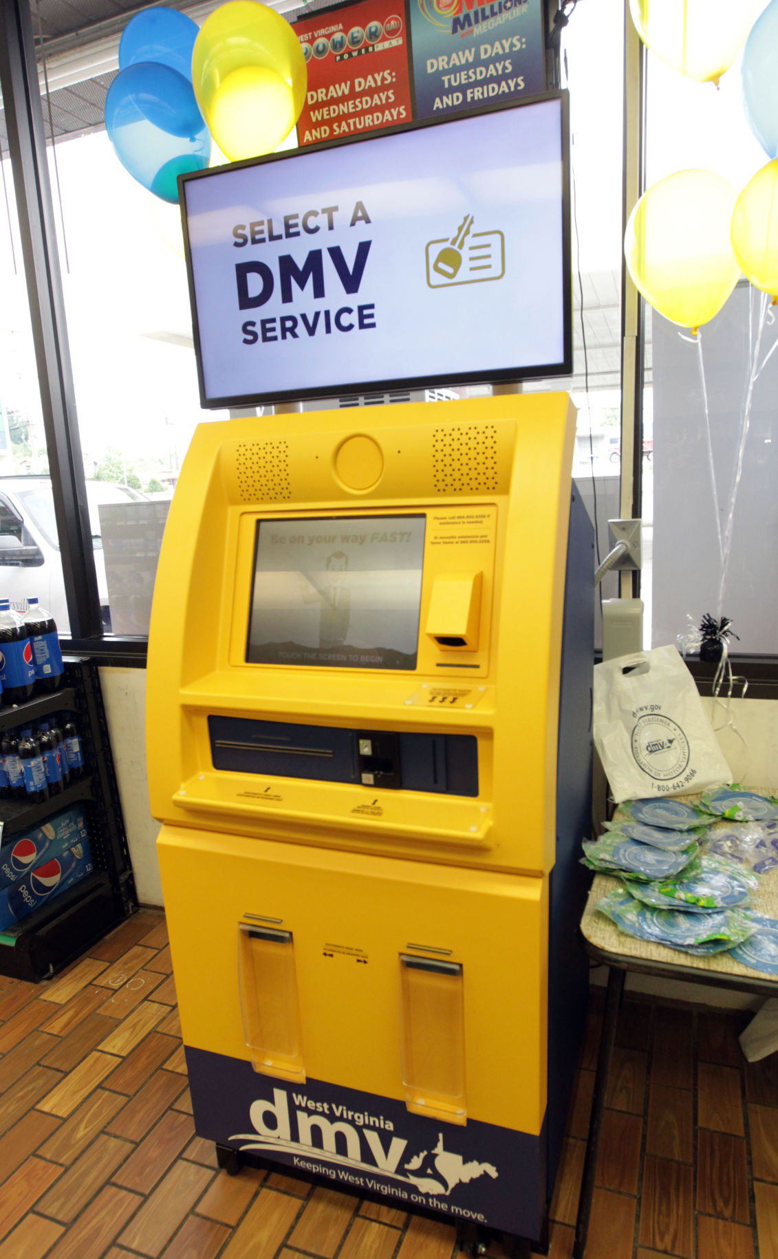 New DMV service kiosk unveiled in Barboursville | News