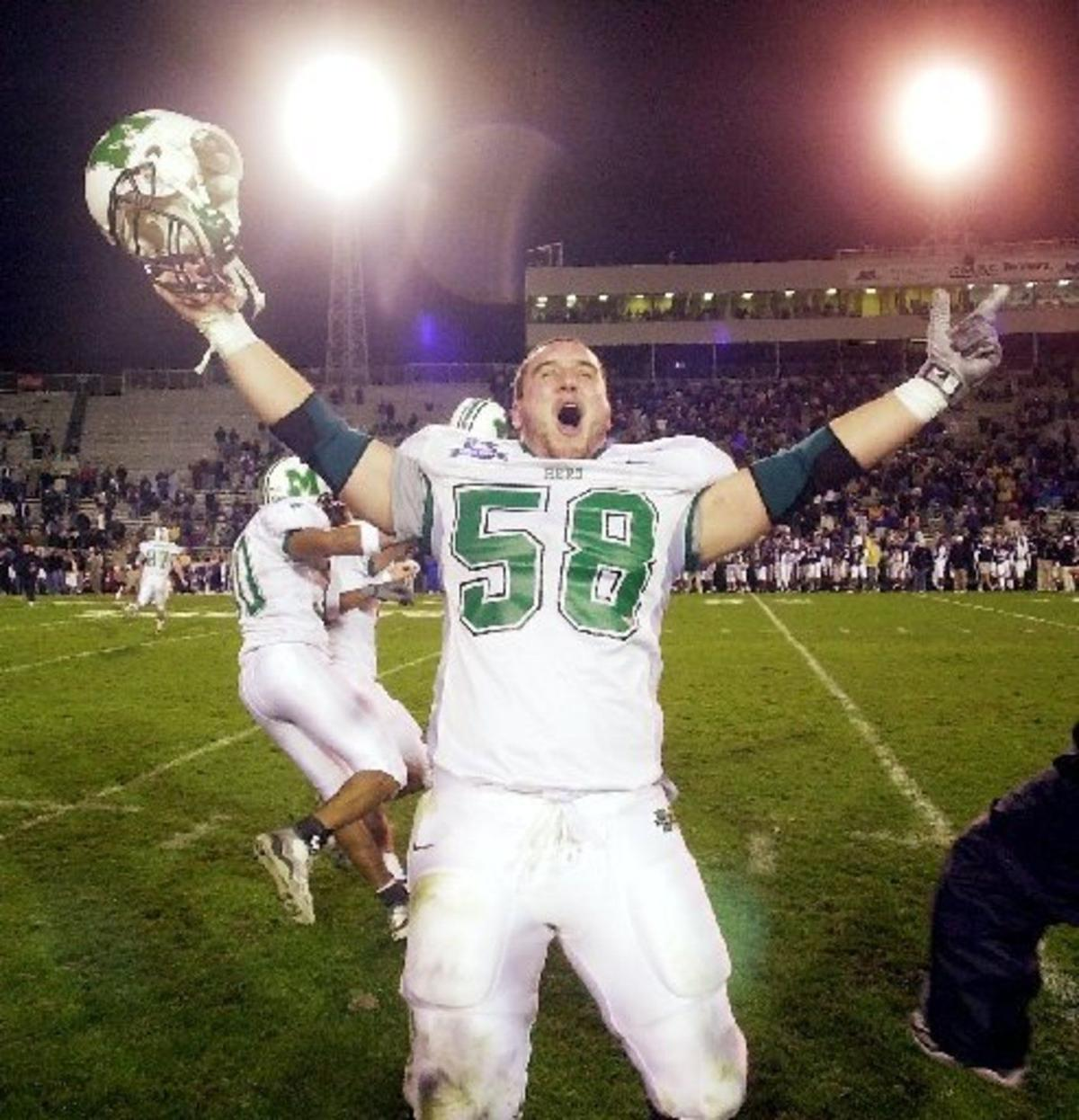 Gallery: Marshall vs. East Carolina, GMAC Bowl, Dec. 19, 2001 ...