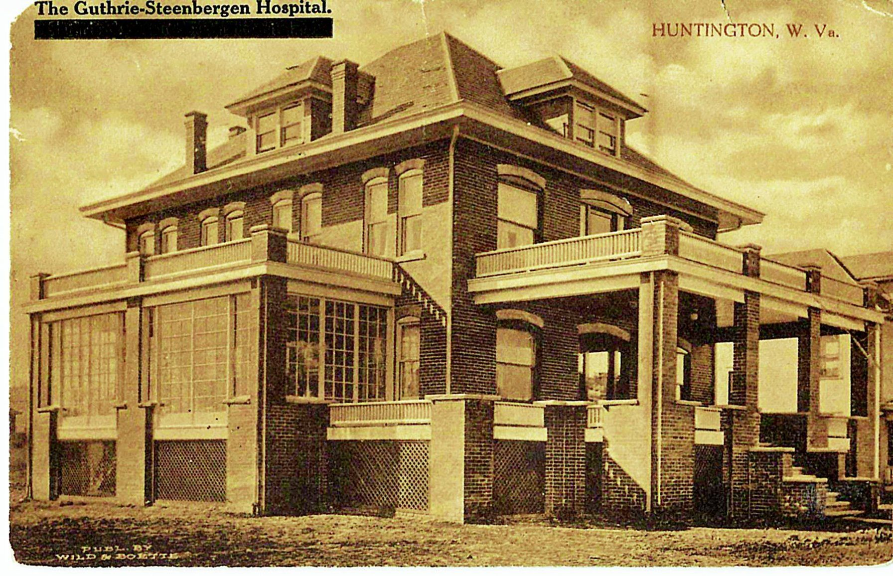 Lost Huntington: Guthrie-Steenburgen Hospital