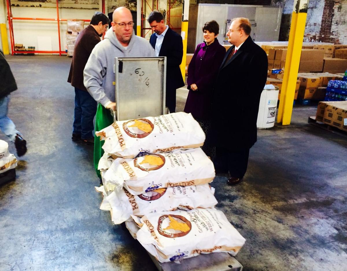 Food bank takes delivery of W Va -grown potatoes | News