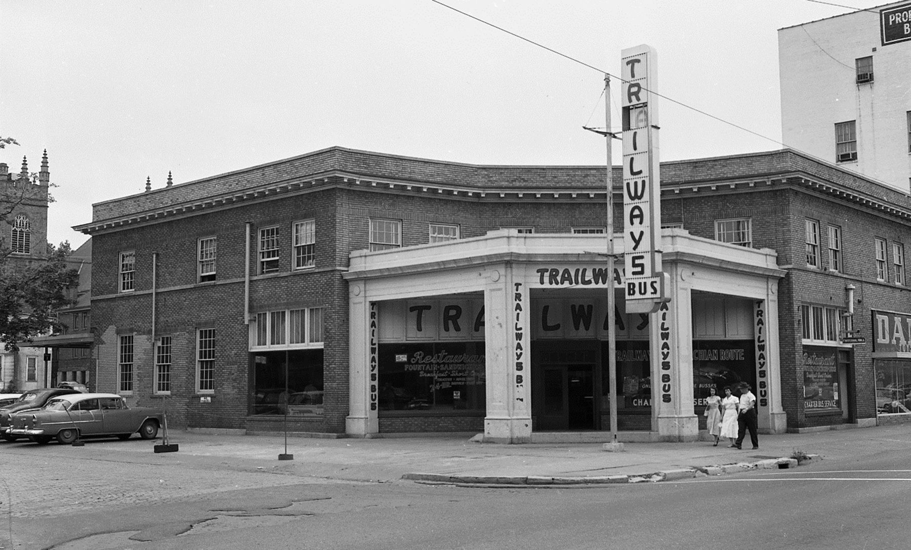 Lost Huntington: Trailways Terminal
