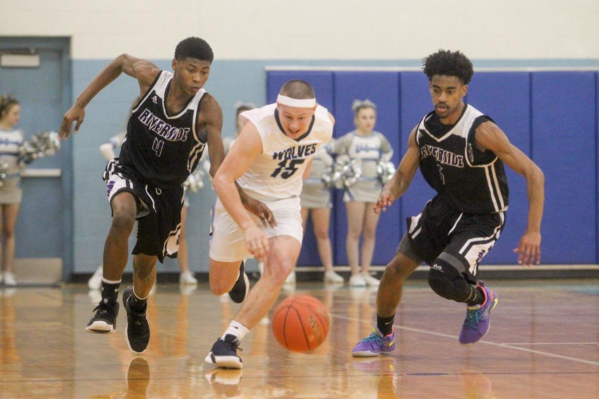 Photos: Boys High School Basketball: Spring Valley vs. Riverside