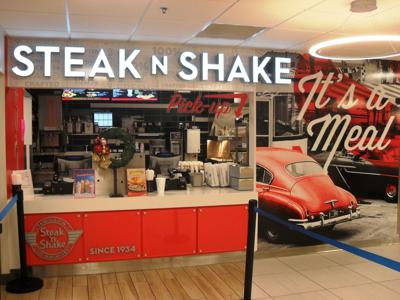 Paul Sebert/For The Herald-Dispatch Steak 'n Shake recently opened in the Marshall University Memorial Student Center food court.