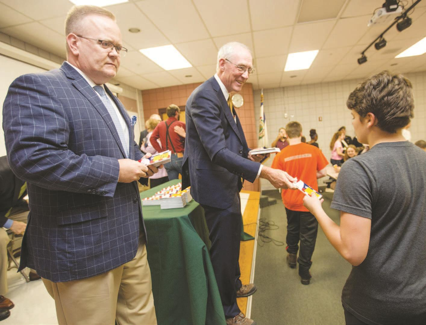 Students get reminder of Constitution's importance