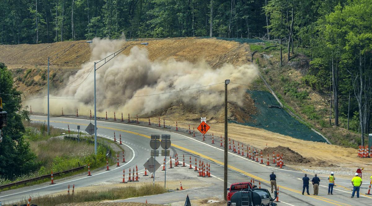 I-64 Nitro Bridge Construction