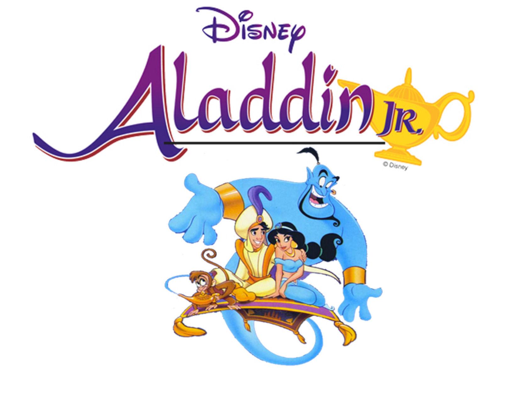 auditions for disney s aladdin jr set for aug 9 10 features rh herald dispatch com  disney aladdin jr logo