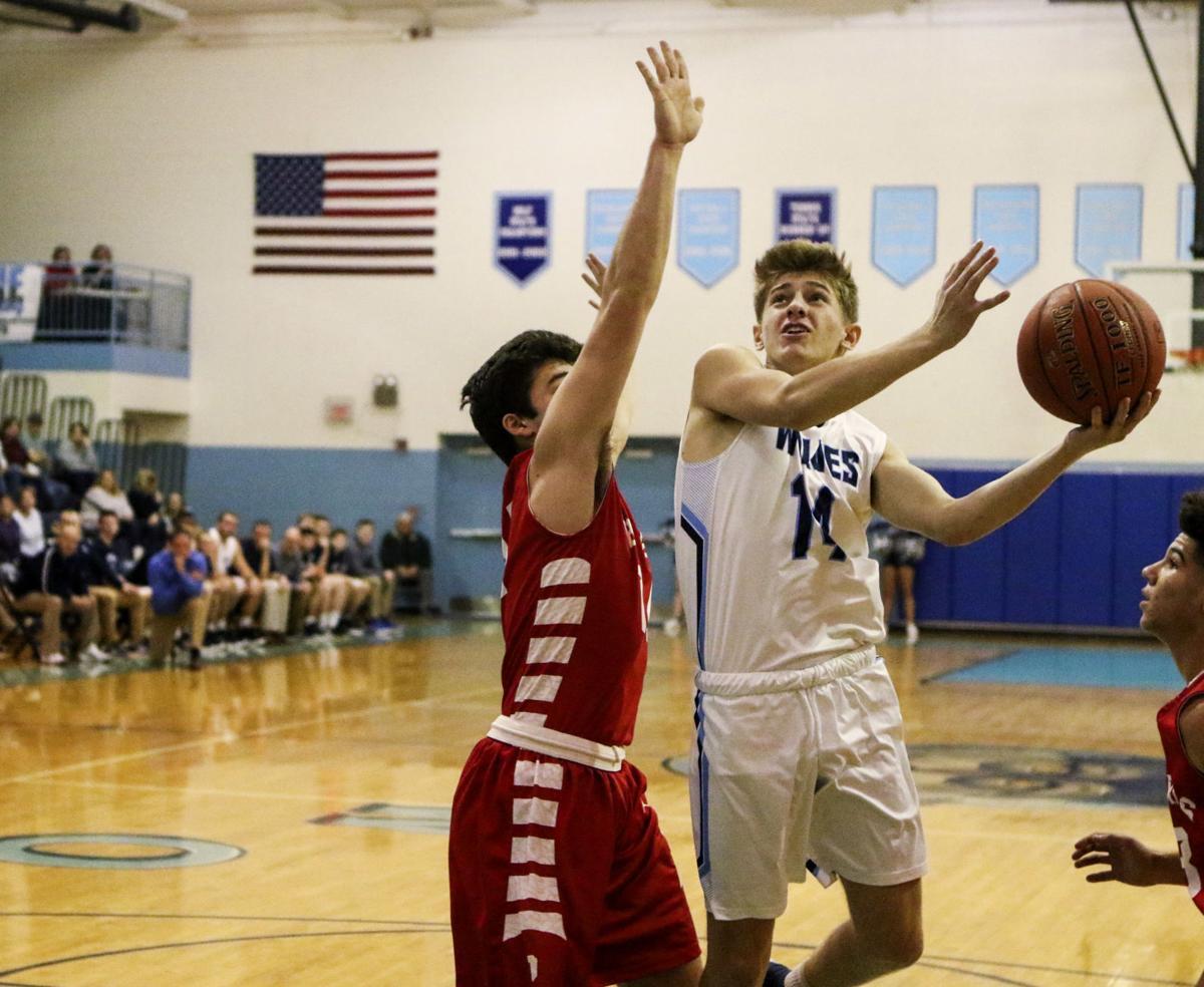 Photos: Parkersburg at Spring Valley boys basketball