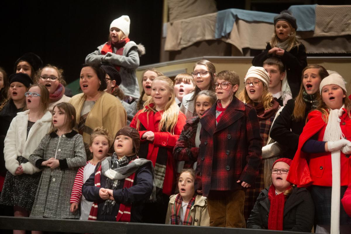 A Christmas Story Musical.First Stage Presents A Christmas Story Features