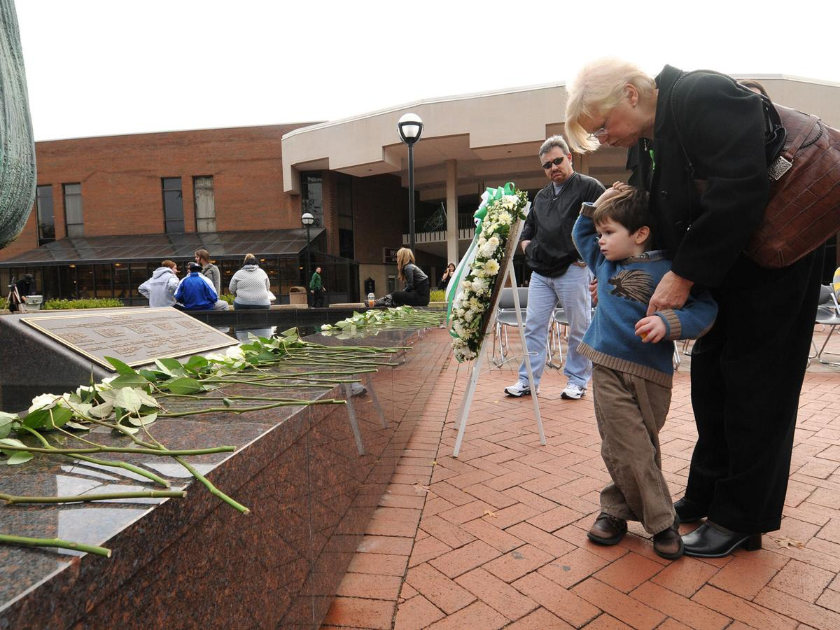 Gallery: Marshall Memorial Service 2008
