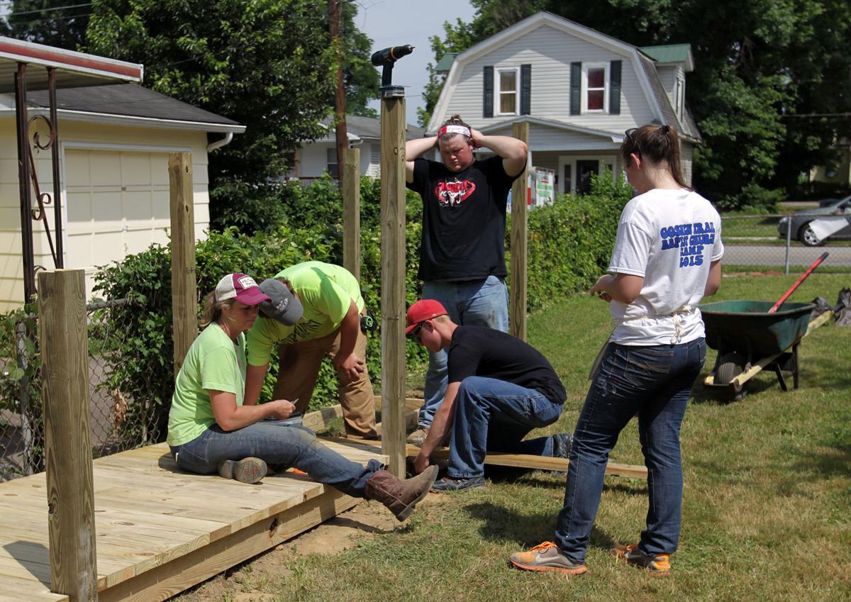 world changers volunteers repair homes in huntington news