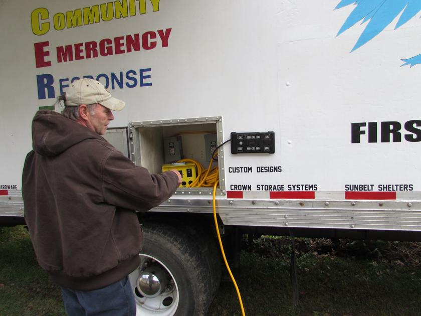 Mingo man invents truck that makes emergency electricity