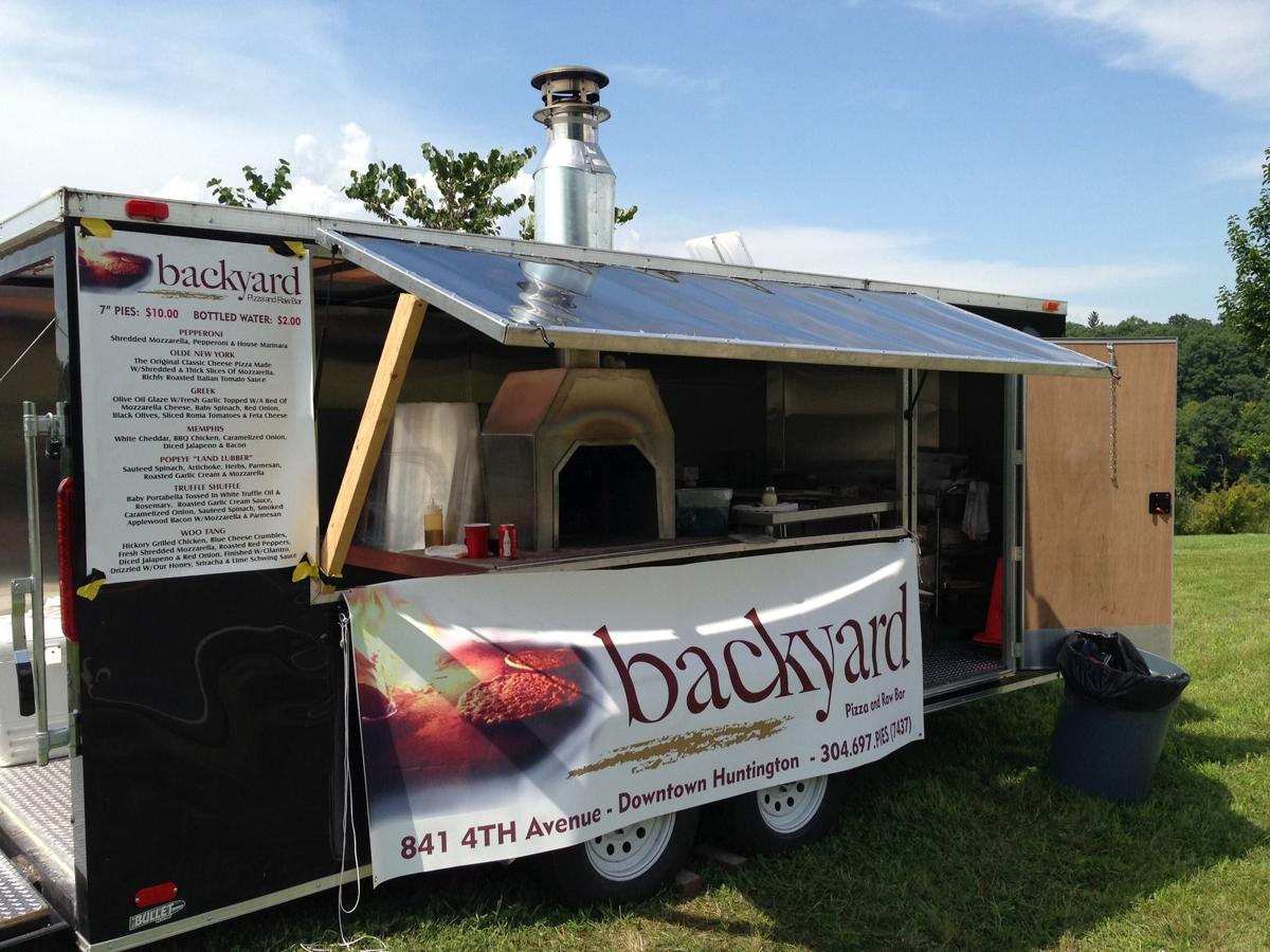 backyard pizza adds mobile diner truck features entertainment