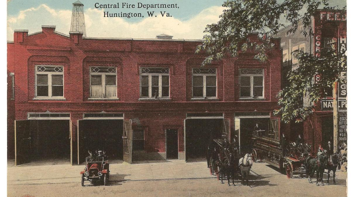 Lost Huntington: Central Fire Station