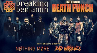 Breaking Benjamin And Five Finger Punch