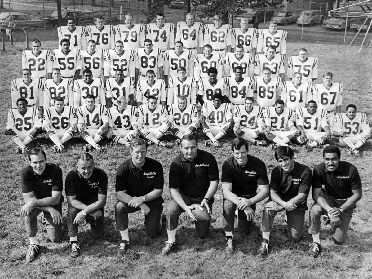 Gallery: Marshall University 1970 football team action