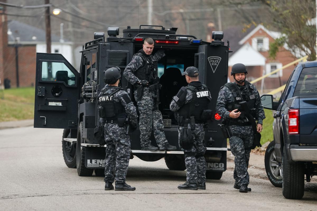 Photos Huntington Police Department Swat Team Raid Photo