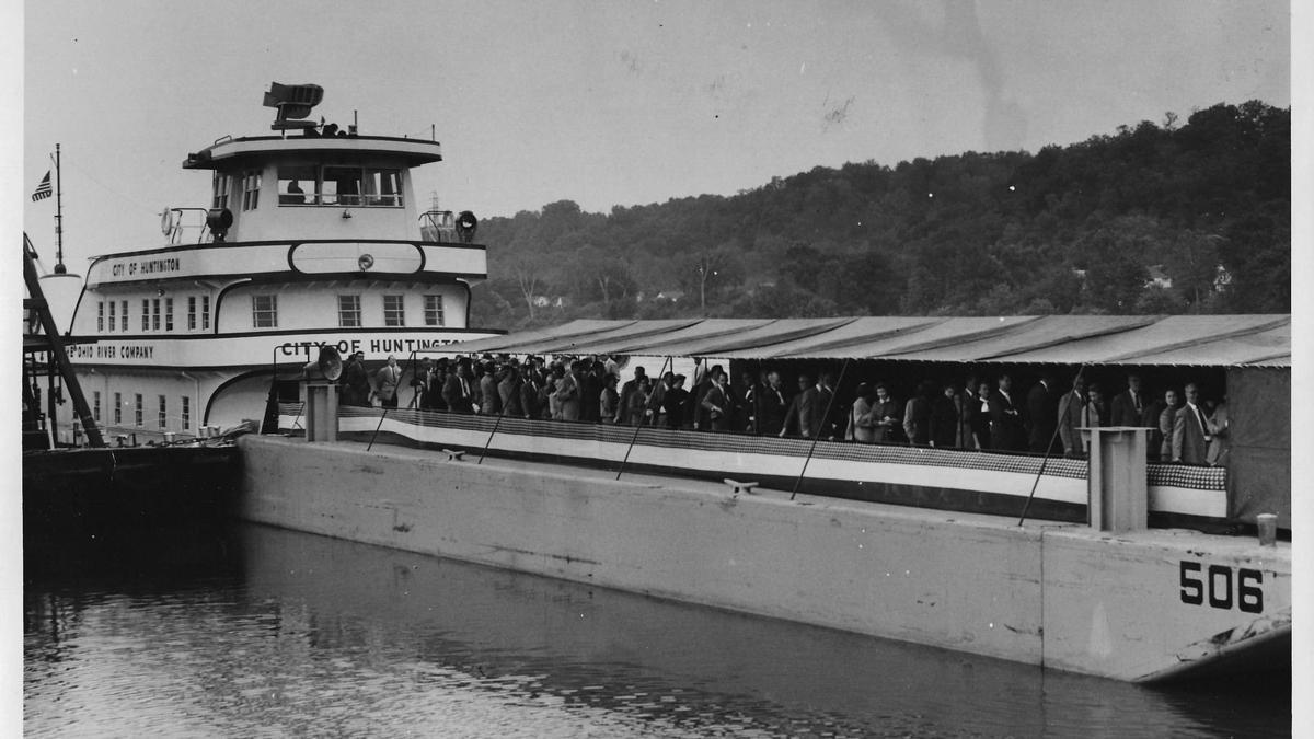 Lost Huntington: 'City of Huntington' towboat