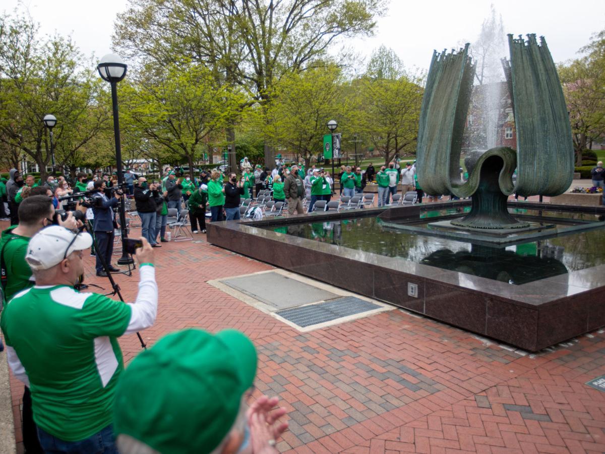 Photos: Spring Memorial Fountain ceremony 2021