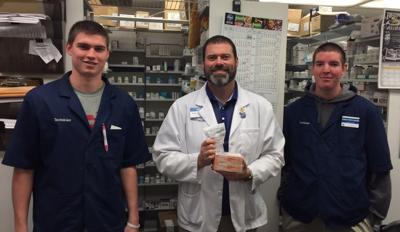 Kroger Pharmacy dispensing naloxone at Proctorville store