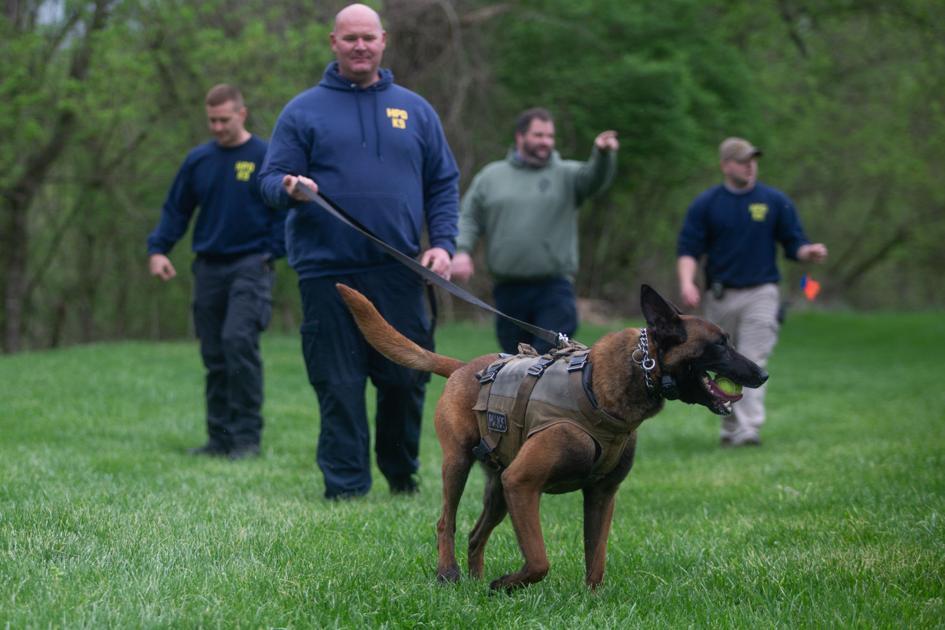Photos: K9 officer training seminar