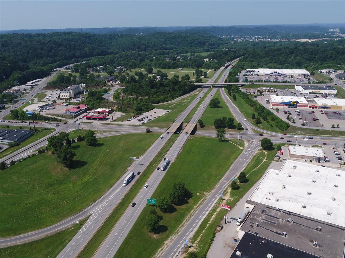 I-64 at mall