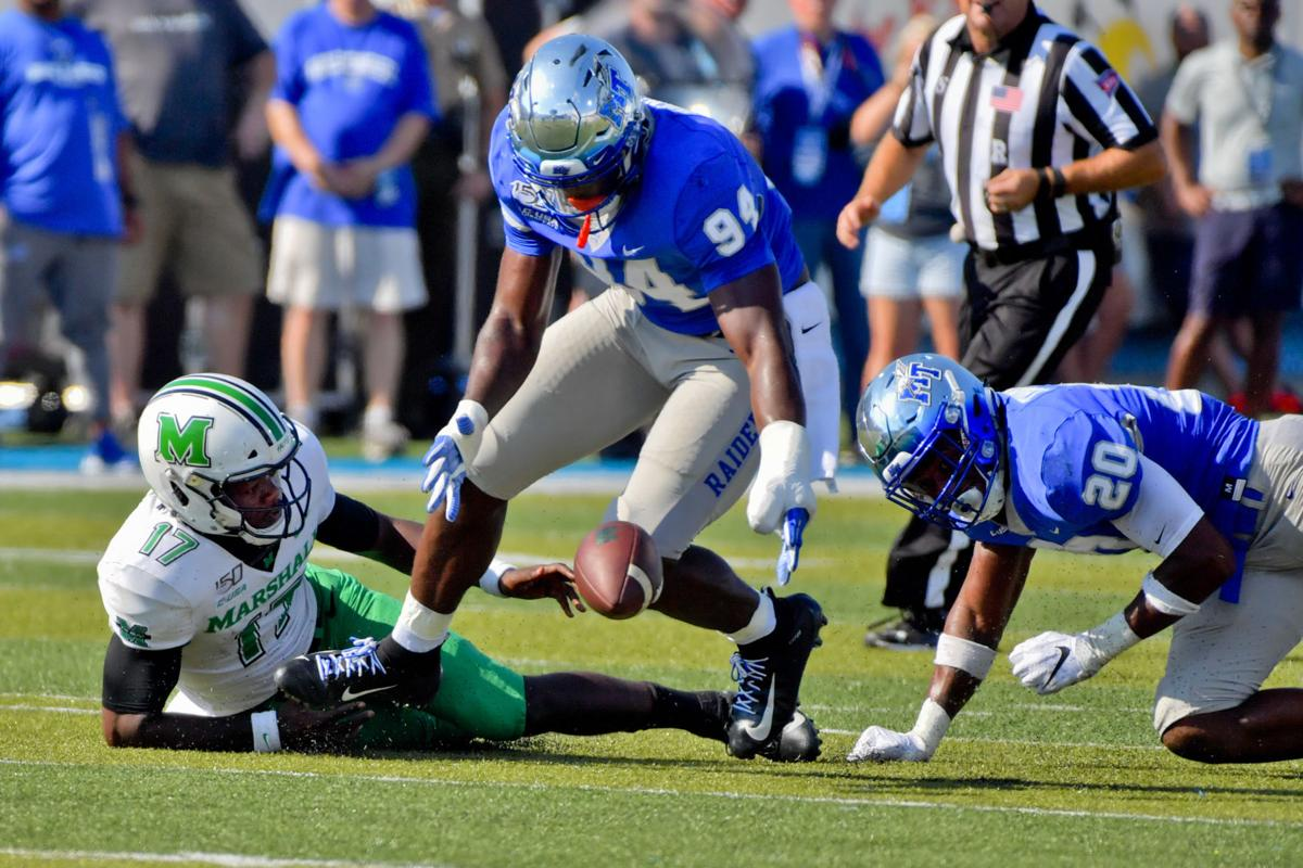 NCAA Football: Marshall at Middle Tennessee