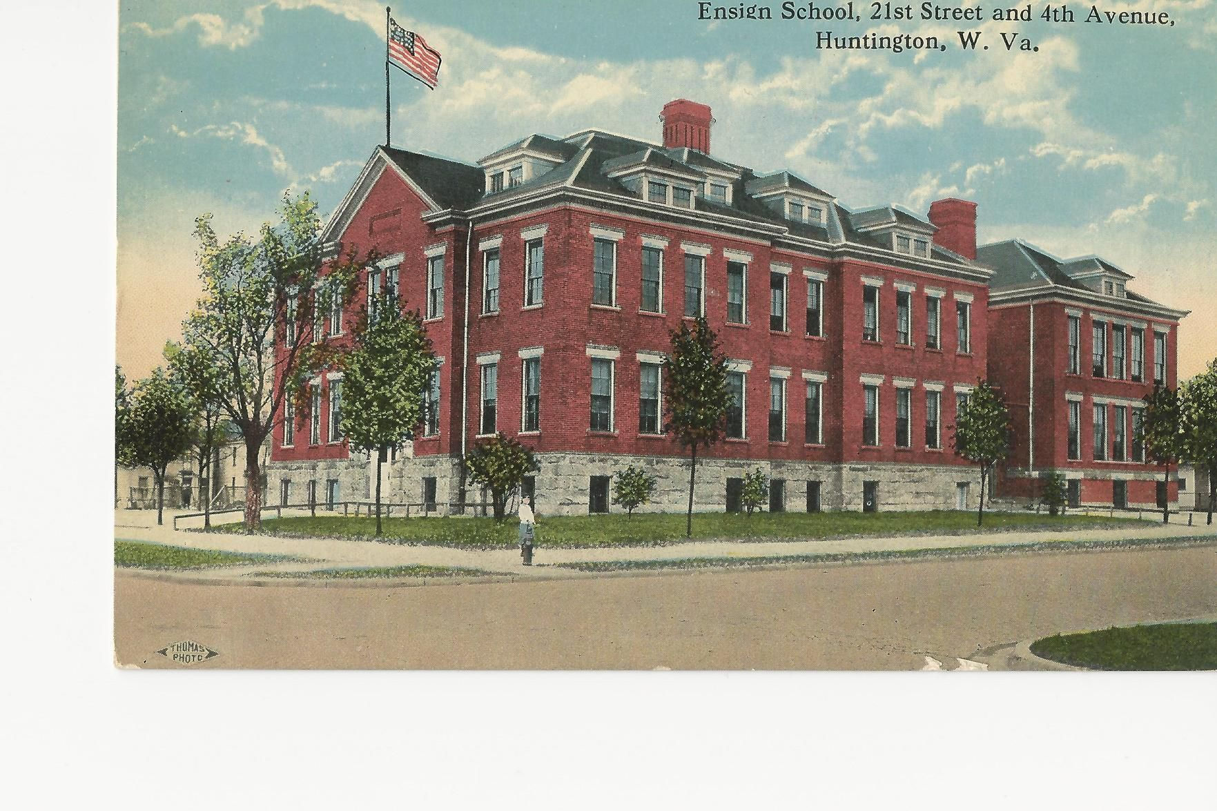 Lost Huntington: Ensign Elementary School