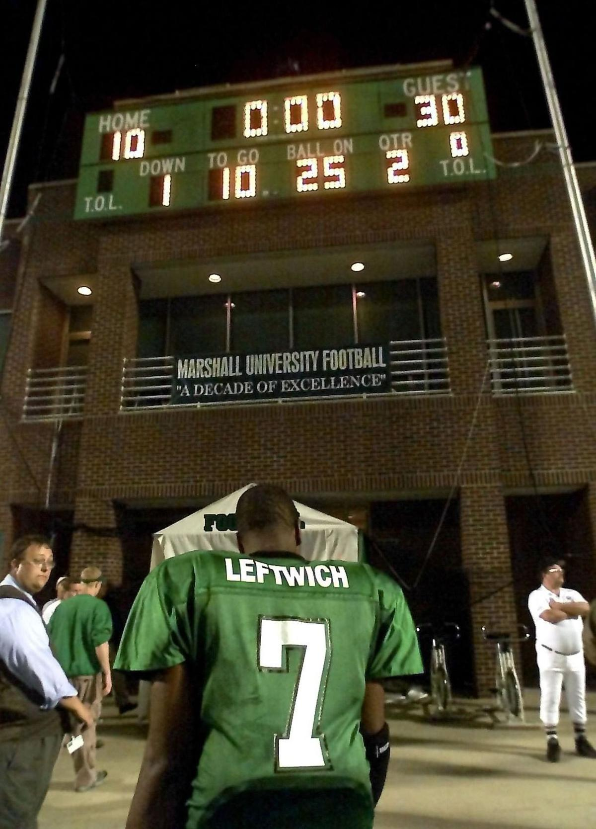 Gallery: Byron Leftwich through the years | Marshall Sports | herald ...