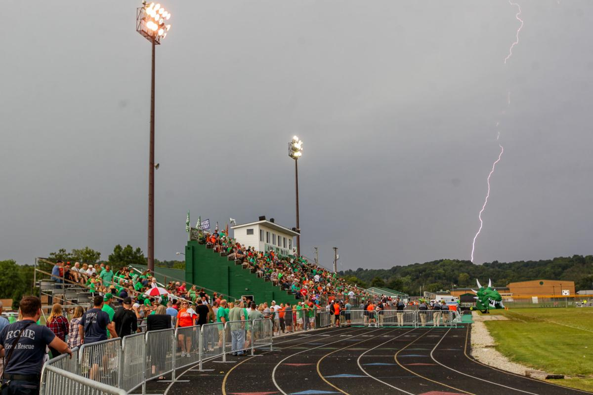 Weather hinders high school football games | Sports | herald