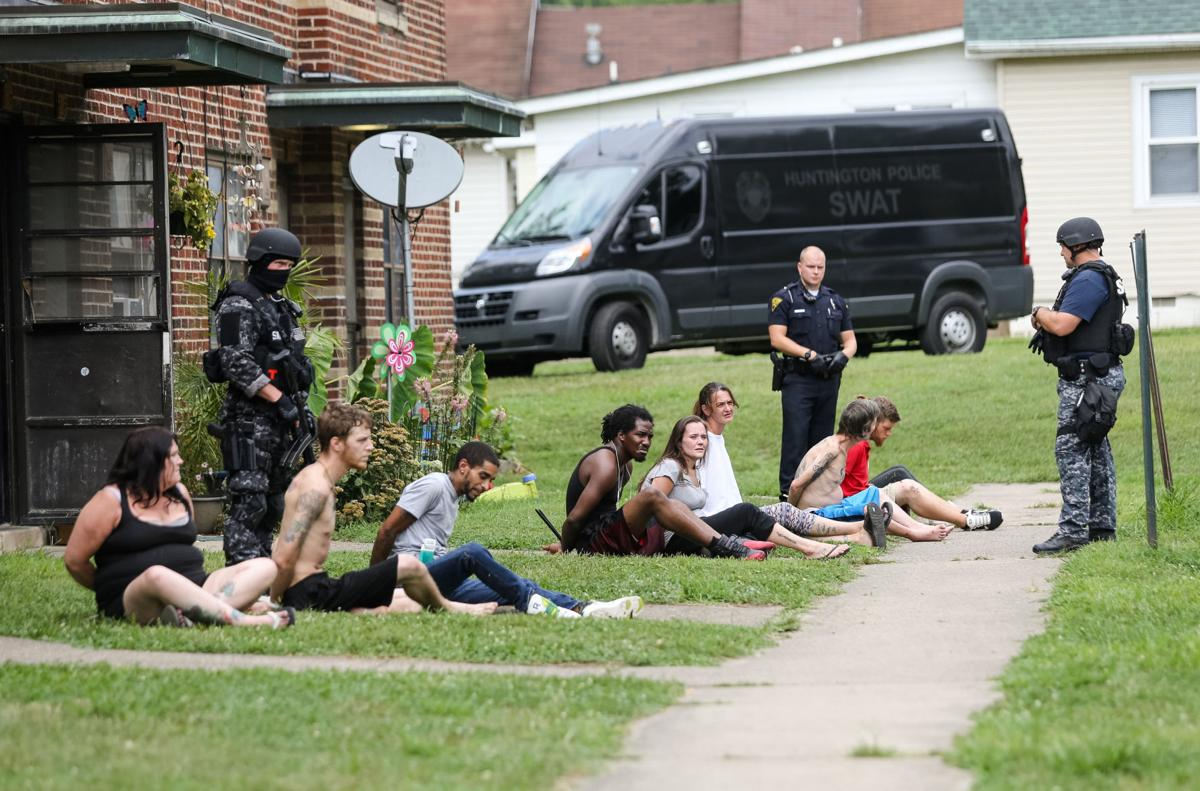 hpd swat raids net 12 arrests in marcum terrace | news | herald